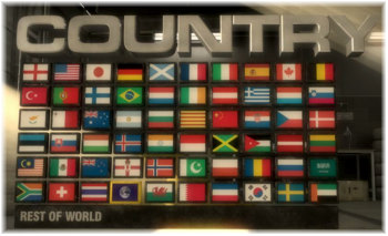 Grid 国籍選択画面